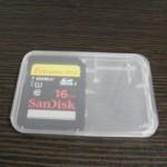 SDカード 16GB ビクターエブリオで使用 データ復元