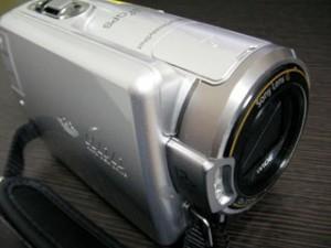 E:31:00のエラー発生 SONY HDR-XR350V ビデオカメラのデータ復元