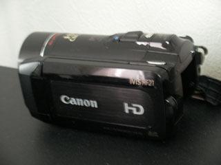 Canon iVIS HF21 データ復元
