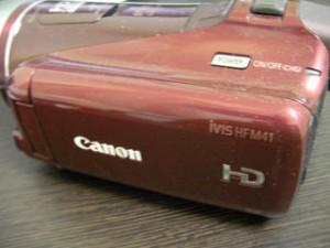 HF M41 Canon iVIS ビデオカメラのデータ復元