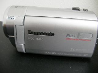 HDC-TM90 パナソニックビデオカメラのムービー復元