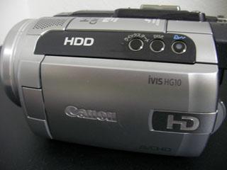 HG10 iVIS Canon ビデオカメラのデータ復元