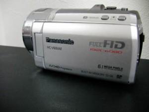 HC-V600M Panasonic ビデオカメラのデータ復元