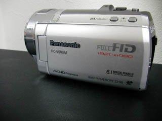HC-V600M Panasonic ビデオカメラのデータ復元に成功