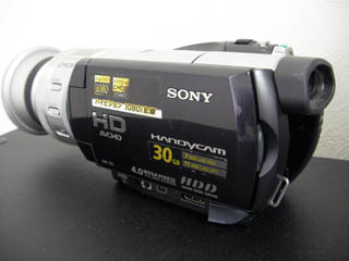 HDR-SR1 SONY HDDエラーのビデオカメラのデータ復元