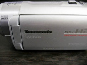 HDC-TM85 Panasonic ビデオカメラのデータ復元に成功