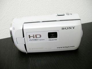 SONY HDR-PJ790V データ復旧