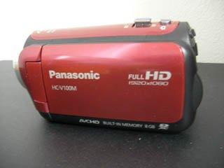 HC-V100M Panasonic ビデオカメラのデータ復元 群馬県