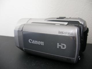 HF M31 Canonビデオカメラ復旧 削除後上書き無し