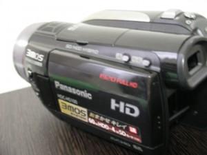 HDC-HS100 Panasonic ビデオカメラのデータ復元