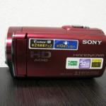 HDR-CX170 SONY ビデオカメラのデータ復元