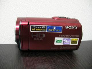 HDR-CX170 SONY ビデオカメラのデータ復元 東京都世田谷区