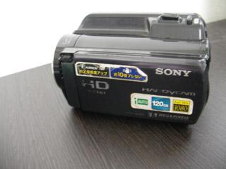 ビデオカメラのデータ復元 HDR-XR150 SONY フォーマットエラー「E:31:00」と表示 埼玉県