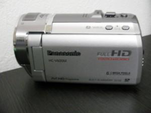 HC-V600M パナソニック ビデオカメラのデータ復元 鹿児島県