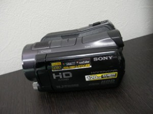 HDR-SR12 ソニーハンディカムのデータ復元 フォーマットエラー 愛媛県