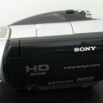 SONY HDR-SR1 ビデオカメラのデータ復元
