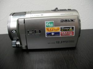HDR-CX560V ソニーハンディカムのデータ復元 神奈川県横浜市