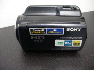 フォーマットエラー SONY HDR-XR150 のデータ復元