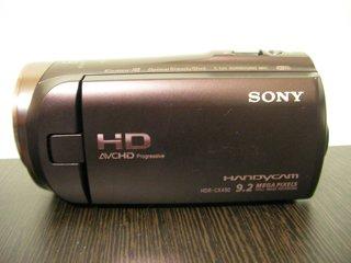 ビデオカメラのデータ復旧 SONY HDR-CX480 東京都