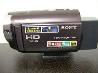 ビデオカメラ復旧 SONY HDR-CX370V