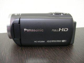 ビデオカメラ復旧 Panasonic HC-V520M 東京都