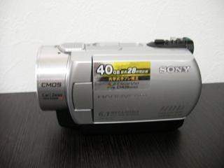 ビデオカメラ復旧 SONY DCR-SR300 千葉県