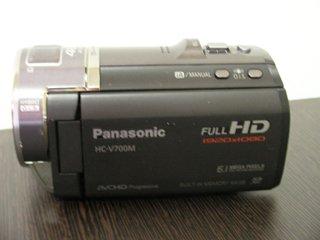 Panasonic ビデオカメラ HC-V700Mのデータ復元