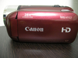 Canon iVIS HF R21 復旧 J・M様