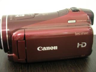 ビデオカメラ復旧 キャノン HF M41 iVIS