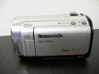 HDC-TM60 ビデオカメラ復元