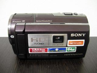 内蔵メモリをフォーマットしたSONY HDR-PJ40 ハンディカム
