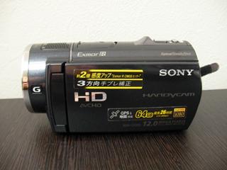 ビデオカメラ復元 SONY HDR-CX520 PCにつないで消した