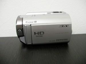 ビデオカメラ復旧 SONY HDR-XR350V フォーマットエラー