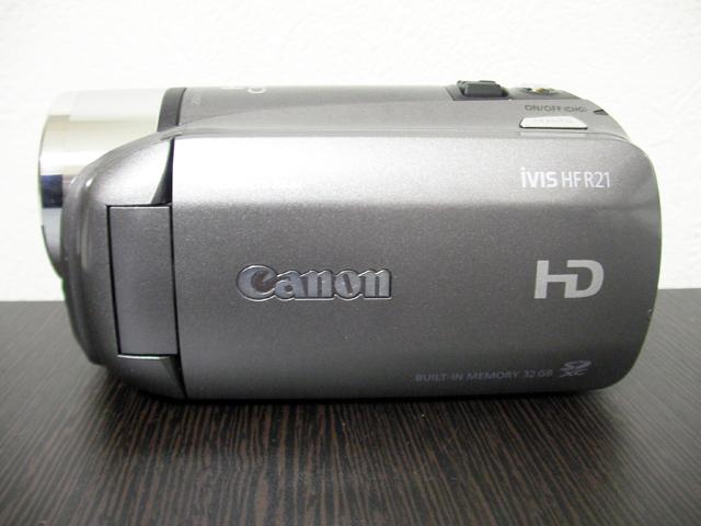 ビデオカメラ復元 Canon iVIS HF R21 東京都足立区のお客様