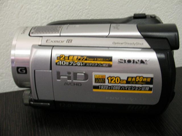 SONY HDR-XR500V ビデオカメラ復旧 埼玉県のお客様
