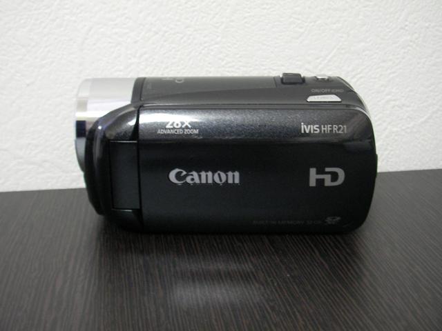 キャノンiVIS HF R21ビデオカメラ復元 栃木県のお客様