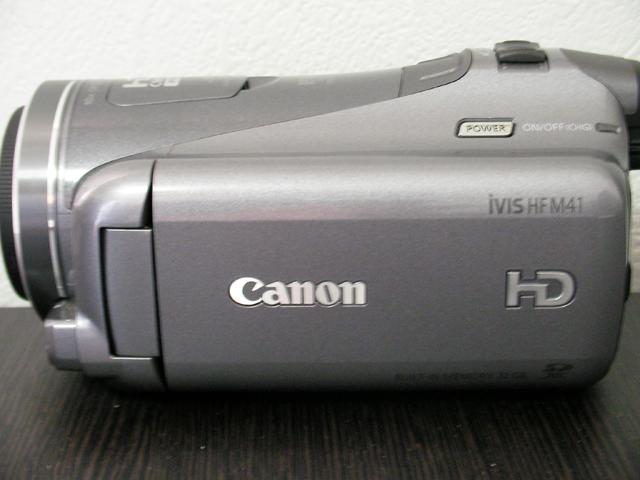 キャノン ビデオカメラ iVIS HF M41 消えたデータ復元に成功