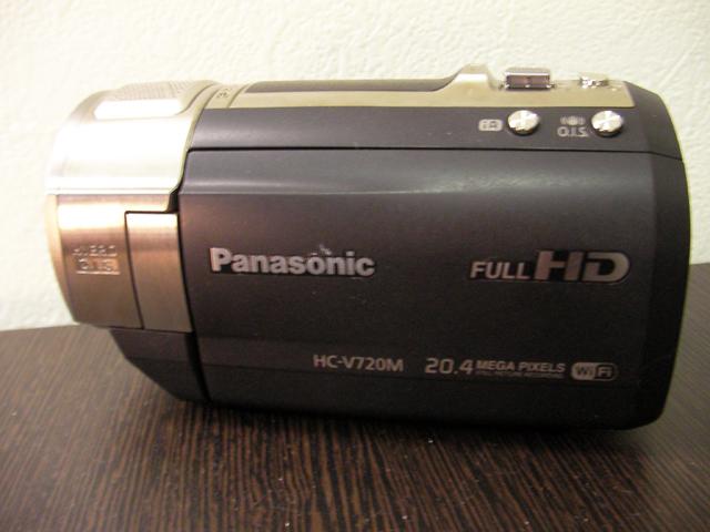 HC-V720M パナソニック ビデオカメラ データ復元に成功 神奈川県