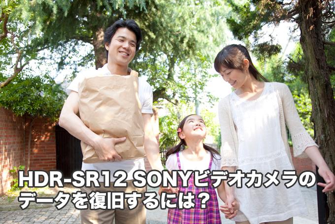 HDR-SR12 SONYビデオカメラ復元の話【知らないと損する】