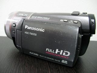 Panasonic HDC-TM350 水没ビデオカメラ復元