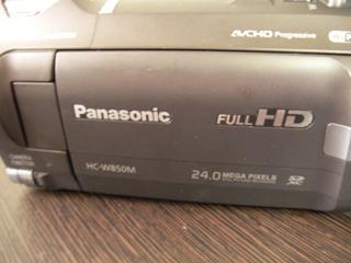 Panasonic HC-W850M ビデオカメラ復元