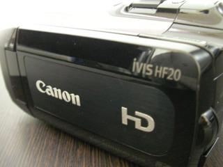 canon iVIS HF20 液晶画面が壊れた
