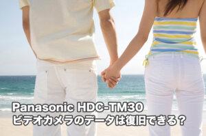 Panasonic HDC-TM30ビデオカメラデータ復旧したい方は他にいませんか?